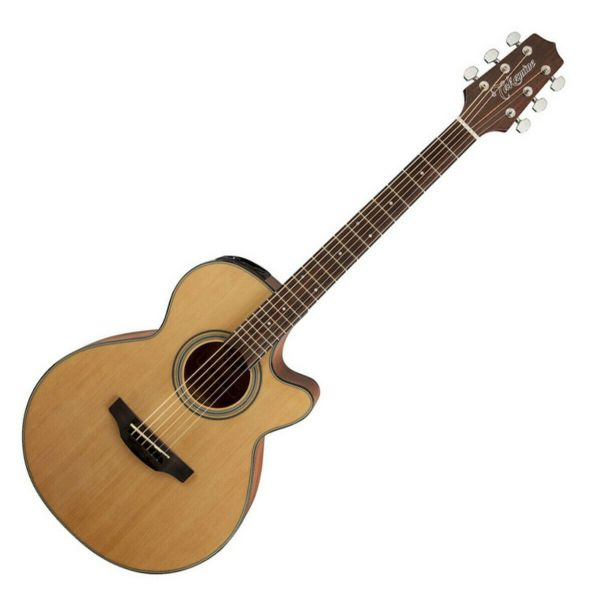 Takamine GF15CE Electro Acoustic Guitar, Natural - TK-GF15CE-NAT